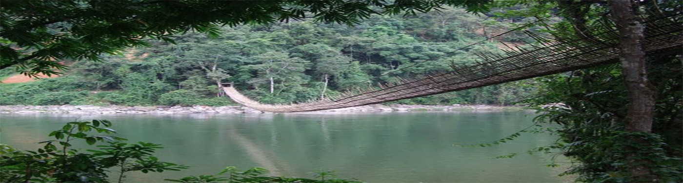 Hanging Bridge at Kabu