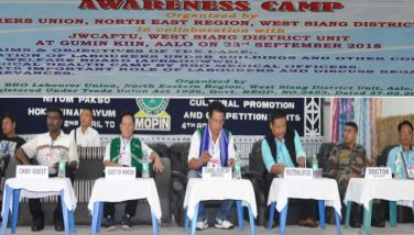 Labour Union, BRO conducts awareness camp