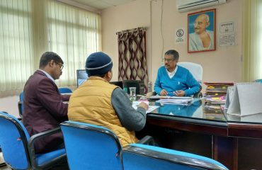 Meeting regarding Aspirational District Programme Image