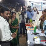 District Collector Viewing the DRDA Activities