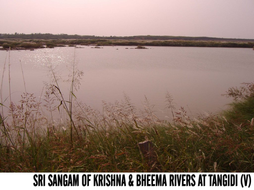 Sri Sangam of Krishan and Bheema Rivers at Tangidi