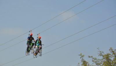 Sky Cycling at Mayuri Haritha Vanam Eco Park