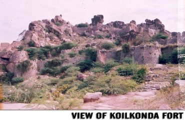 A View of Koilkonda Fort,Mahabubnagar