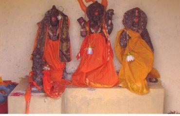 A View of Sri Rama, Lakshmana and Sita Devi
