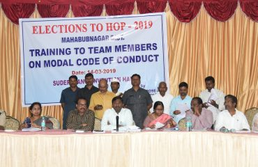 Loksabha Elections MCC Training