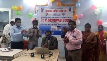 eoffice inauguration Prohibhition and excise