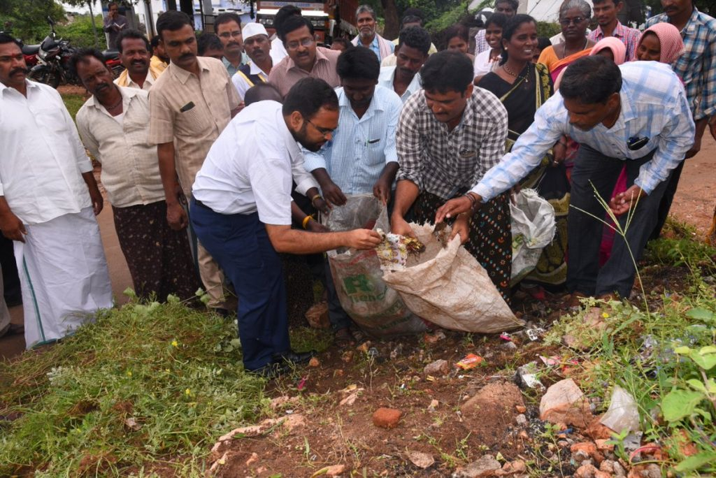 District collector visited Venkatapur, Kistapur and Uppal Villages of Ieeja mandal as a part of (30) Days Action Plan.Sep.20