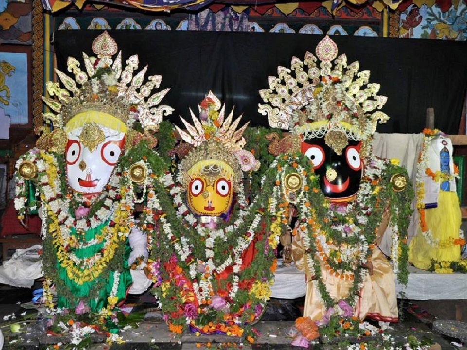 Deities of Jagannath Temple