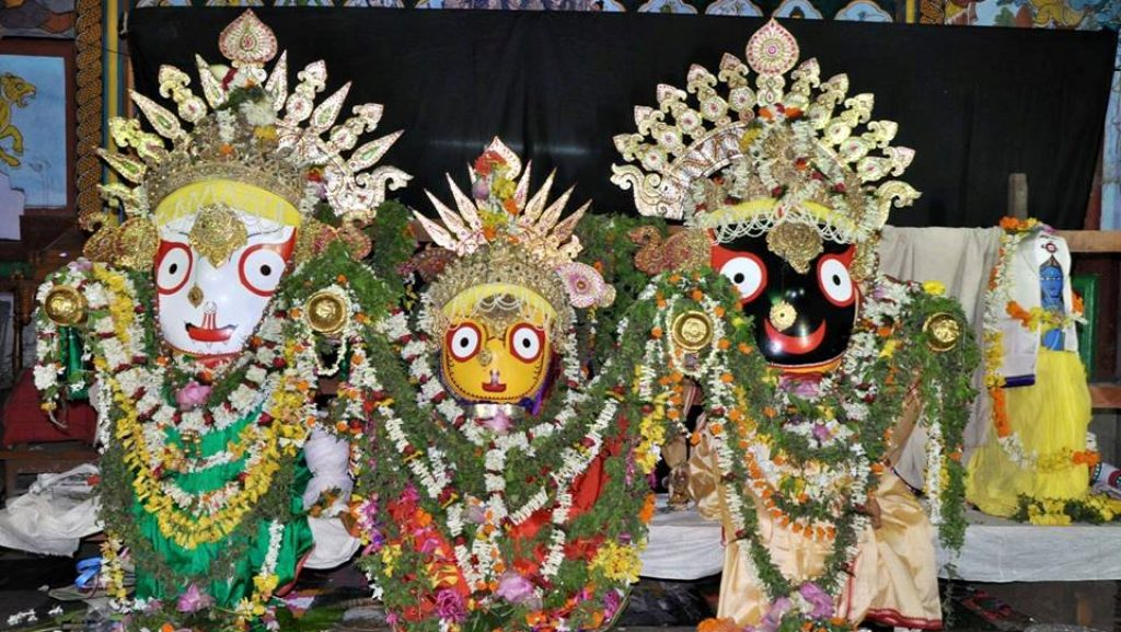 Deities at Jagannath Temple