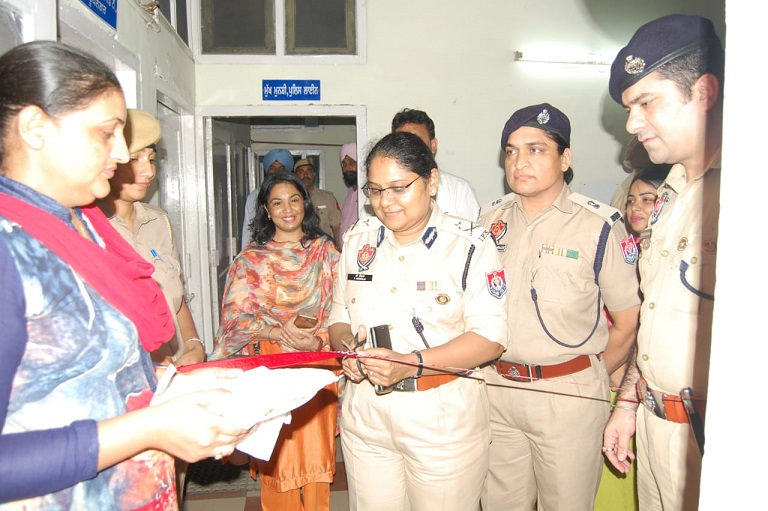 Inauguration of Child Help Unit.