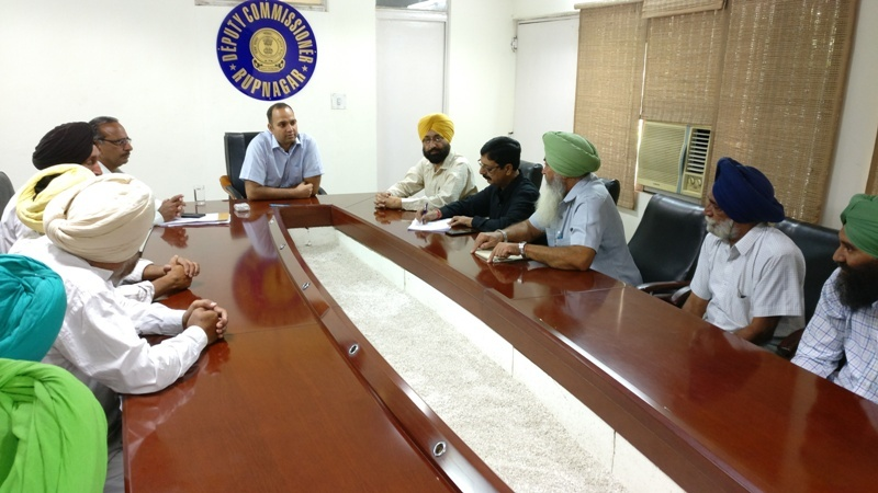 DCs Meeting with Farmer Unions