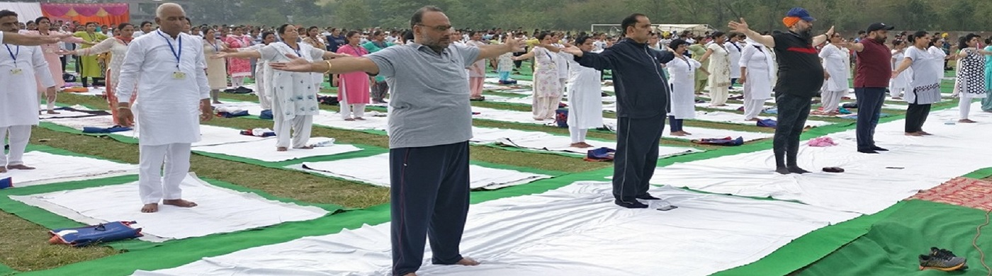 International Yoga Day 2019 at District Rupnagar.