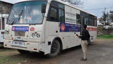 Mobile Medical Unit Bus Service