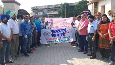 Peace March on Gandhi Jayanti2019