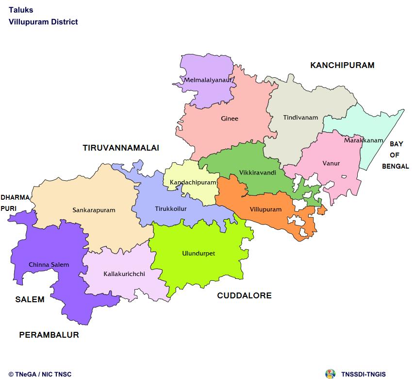 Taluk Map
