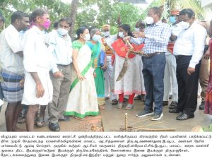 Nivar cyclone - District Collector Inspection1
