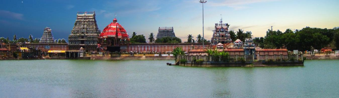 Thiyagarasar Temple and Pond1