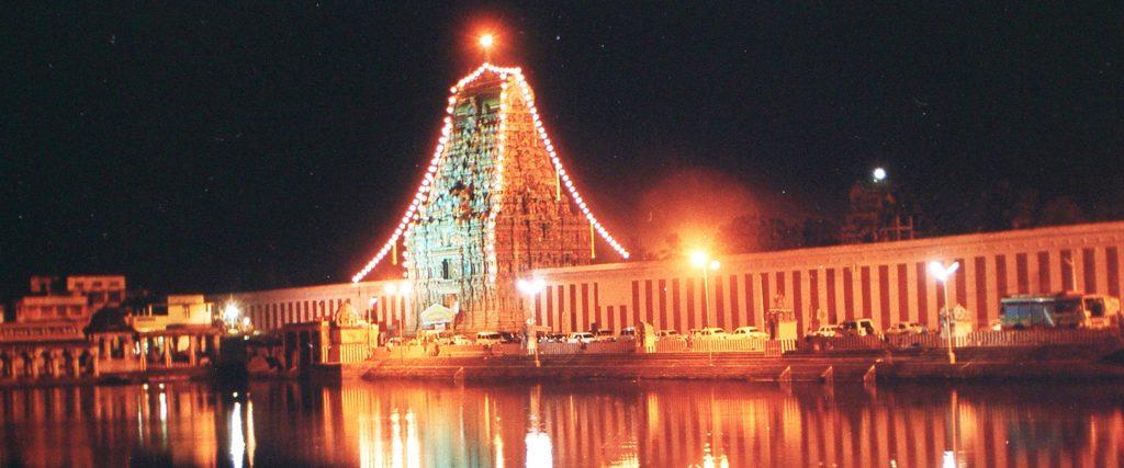 Thiyagarasar Kovil West Kopuram