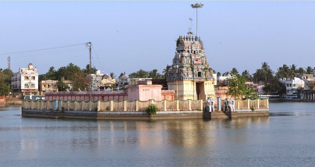 ThiyagarasarKovil and Pond