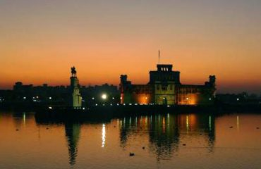 Evening View of Lakhota Lake