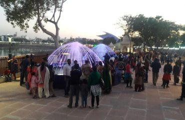Fountain beauty at Lakhota Lake