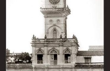 Old photo of Mandvi Tower