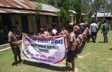 Swachh Bharat Rally at School