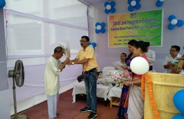 Distribution of golden card amongst the beneficiaries
