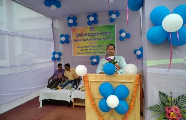 Speech by DM & Collector, Khowai