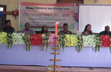Celebration of 10th National Voters Day 2020