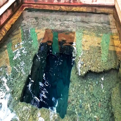 Water automatically flows out from the mother earth at Patalganga
