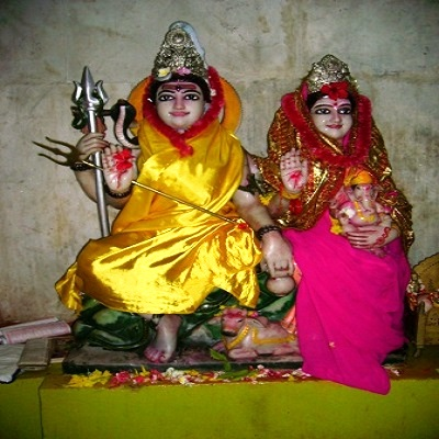 Joint Idol of Siva and Parvati