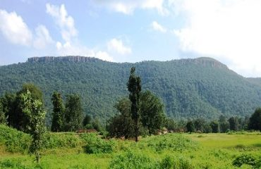 Beautiful Nature of Hill Side at Patora