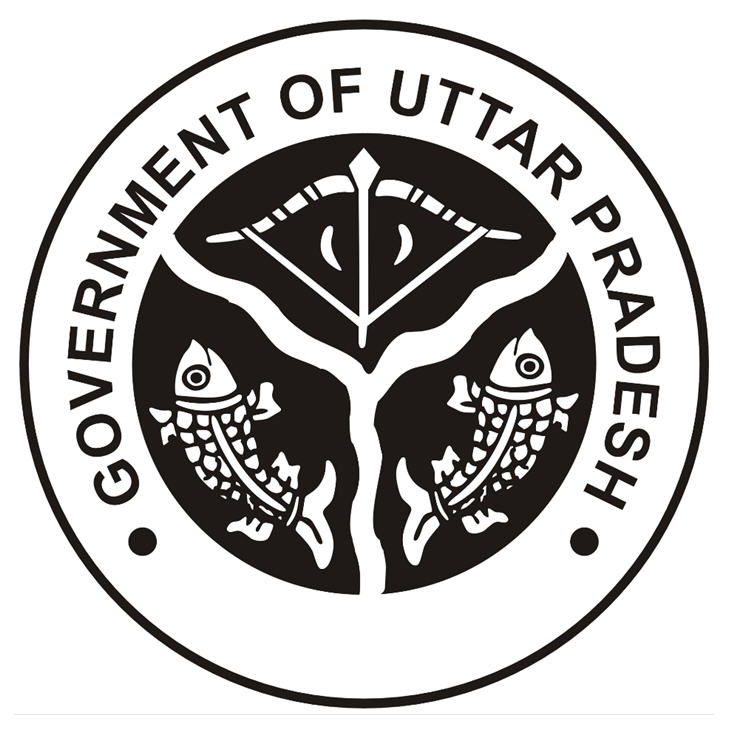 This is the logo of Uttar pradesh sarkaar