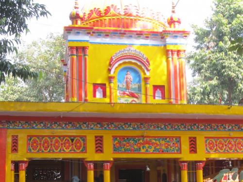 This is the image of Mari mata mandir of Bahraich