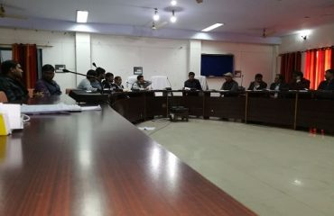 This is the image of Vikas bhawan meeting hall