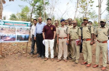 A part of forest conservation visit ghanpur