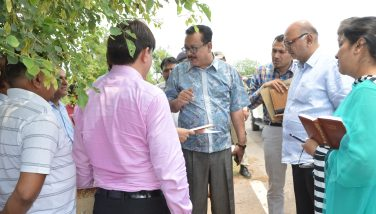 Advisor Skandan visits Kathua to explore possibilities of industrial growth