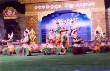 odishi dance by district artist