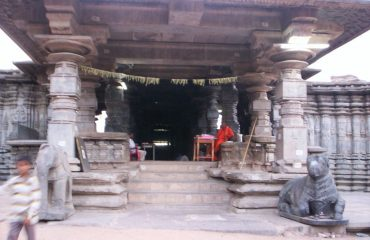 Temple Front