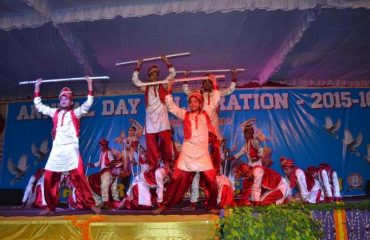 Mau School Function - Bhangra Dance