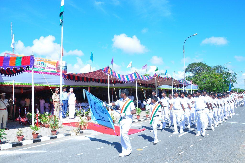Celebration of 65th Puducherry Liberation Day-2019