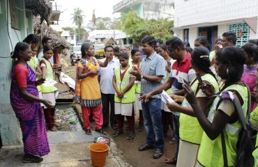 Door to Door Canvassing by the District Collector Mr. R.Kesavan, IAS.