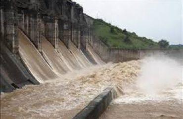 konar dam water discharge View