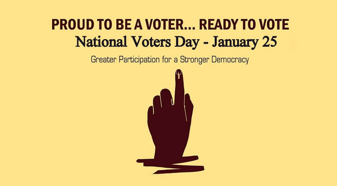 NATIONAL VOTERS DAY january 25