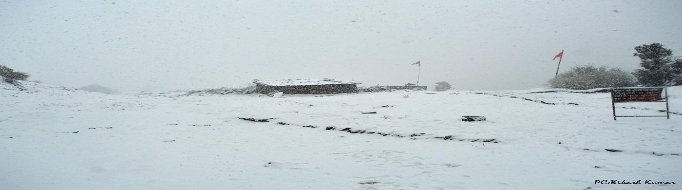 SNOWFALL IN DAYARA BUGYAL