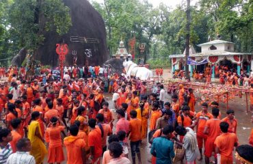 Public at Bhooteshwarnath Temple