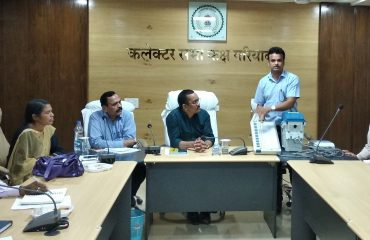 EVM and VVPAT Awareness Meeting with Media