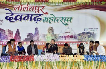 Lalitpur Devgarh Mahotsav Claasical Music Ceremony