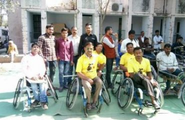 Divyangjan Cycle Distribution by Hon'ble Minister 3